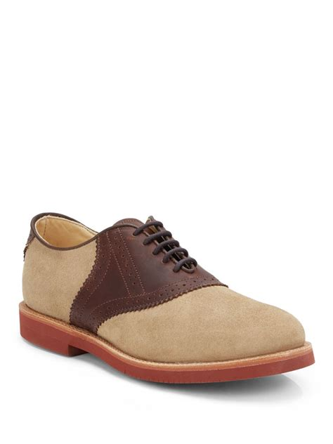 saddle oxford shoes for sale walk suede leather saddle oxford shoes in beige for