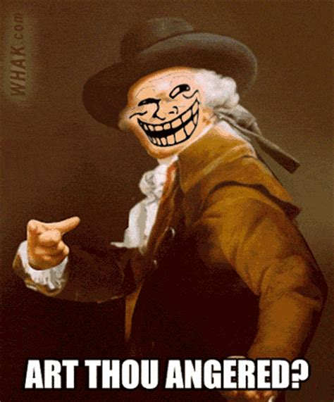 U Mad Meme Face - troll face gif animations for trolling troll dancing on