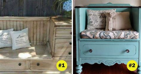 dresser into bench 6 fabulous ideas for turning an old dresser into a country garden or patio bench