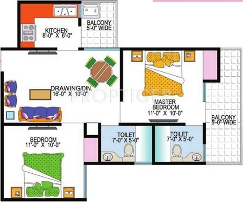 950 sq ft 2 bhk 2t apartment for sale in modi properties 950 sq ft 2 bhk 2t apartment for sale in super realtech