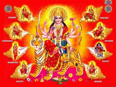wallpaper cartoon durga hindu wallpapers wallpaper cave