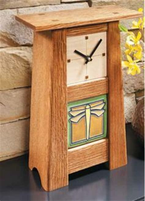 craftsman clock plans woodworking projects plans