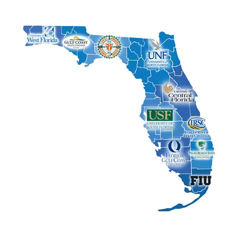 florida colleges and universities map florida sbdc network state director on small business