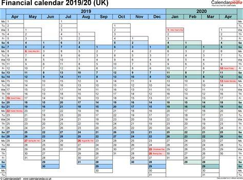 Excel Calendar Template 2018 2019