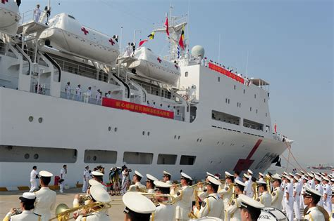 ship hospital china s naval hospital ship heads to africa ministry of