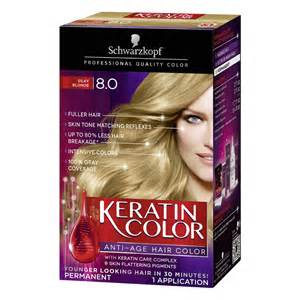 schwarzkopf keratin hair color 8 0 silky 2 03 oz