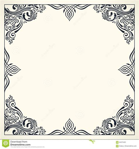 card border template wedding card border templates christopherbathum co