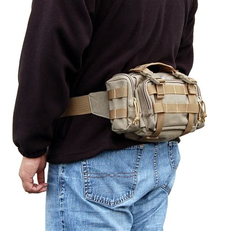 Mawa Octa Shoulder Bag Brown maxpedition proteus versipack molle waist belt bag travel