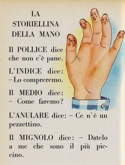 la mano sulla la storiellina della mano i testi della tradizione di