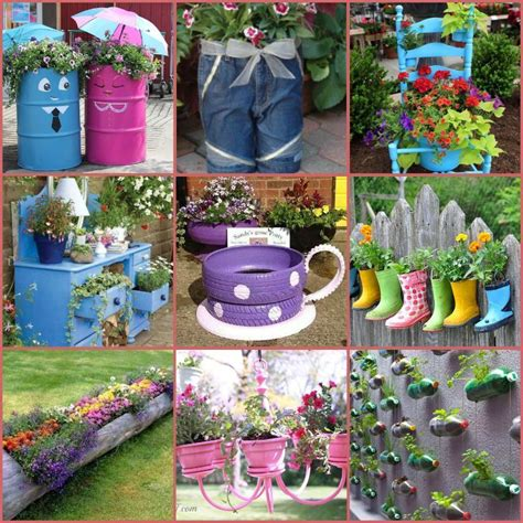 recycled gardening ideas 40 creative diy garden containers and planters from