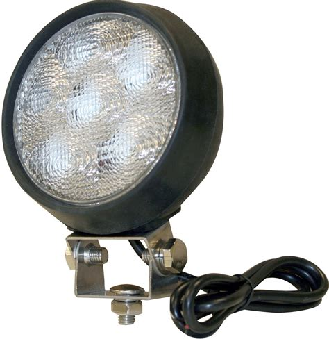 Buyers 6 Led Clear Flood Light 12 24 Volt Foxtail 24 Volt Led Lights