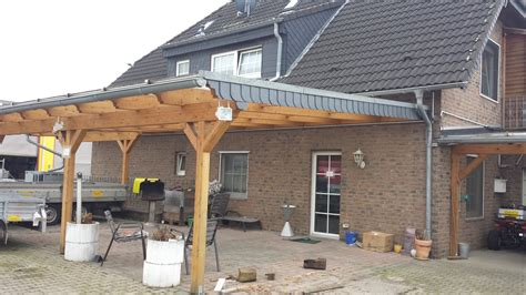 vordach terrasse holz vordach unterkonstruktion holz bvrao