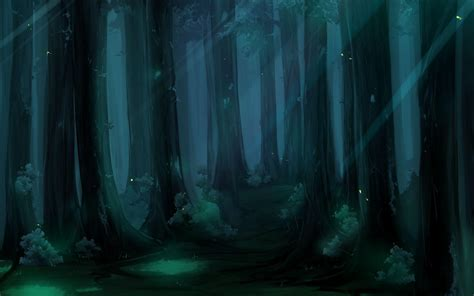 wallpaper blue forest anime forest backgrounds wallpaper cave