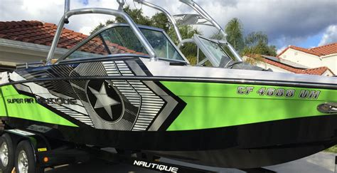 nautique boat wraps new super air nautique boat graphics monster image