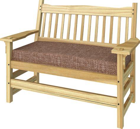 bench loveseat objeto bim y cad stickley bench sofa 02 polantis
