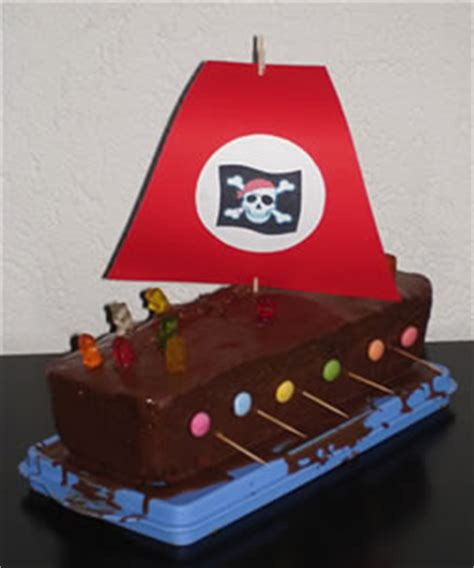 kuchen piratenschiff rezept piratenschiff kuchen