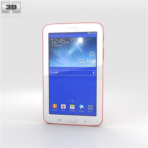 Samsung Tab 3 Pink samsung galaxy tab 3 lite pink 3d model humster3d