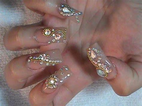 imagenes de uñas acrilicas estilo sinaloa unas estilo sinaloa con piedra