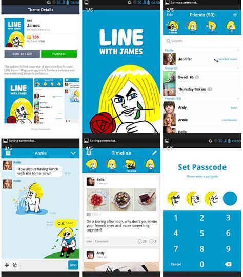 theme line with james สต กเกอร ไลน ถ กท ส ด line sticker shop line theme james