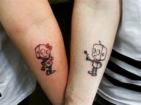 tattoo robot couple robot couple tattoo creativefan