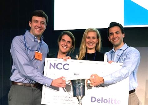 Williams And Mba by Darden Mba Team Wins Deloitte Contest