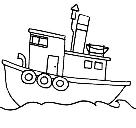 how to draw a boat in the sea boat drawing for kids at getdrawings free for