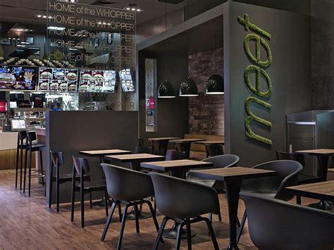 burger king interior design design de magasin design