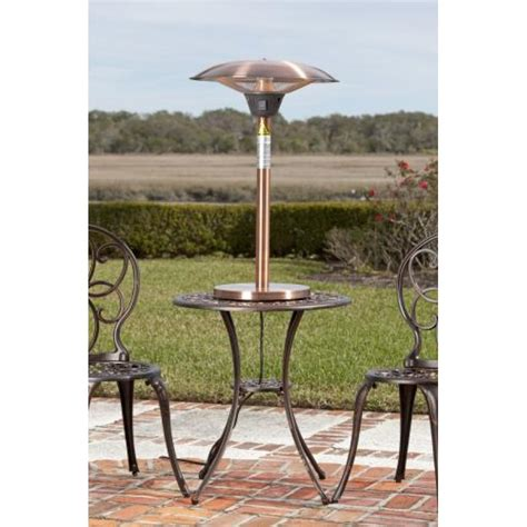 Copper Patio Table Copper Table Top Patio Heater Crunchymustard