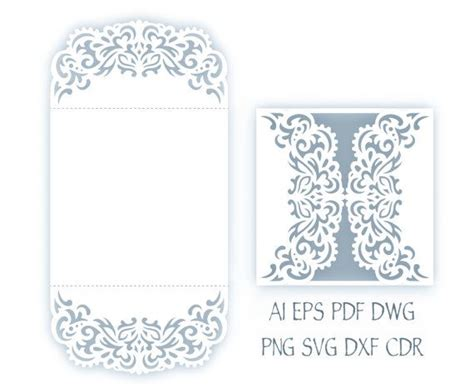 free wedding gate fold card template svg wedding invitation 5x5 gate fold card template