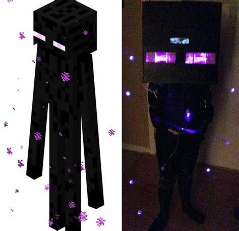 printable enderman mask diy enderman costume minecraft diy pinterest kid