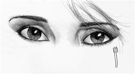 imagenes para dibujar a lapiz ojos dibujos a lapiz faciles de ojos imagui