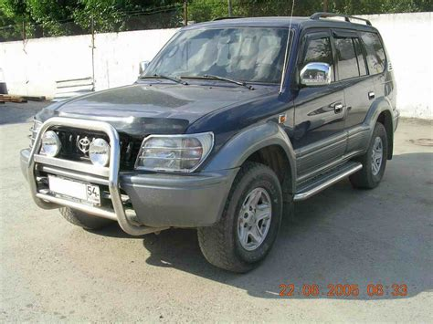 land cruiser 1998 1998 toyota land cruiser prado j9 pictures