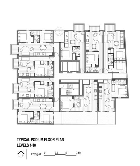the burrow floor plan upper house jackson clements burrows archdaily