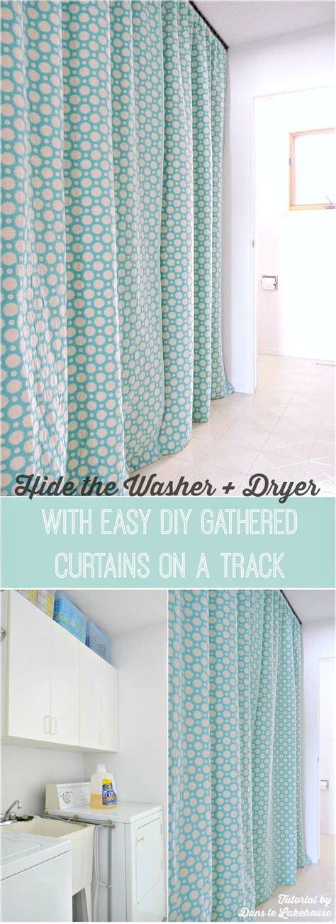 curtains to hide washer and dryer 25 best ideas about laundry room curtains on pinterest