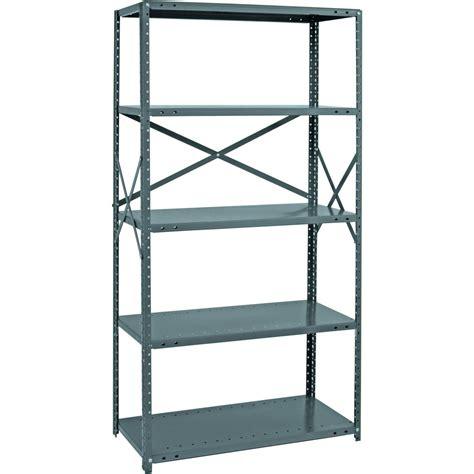etagere plastik quantum heavy duty 18 industrial steel shelving 5