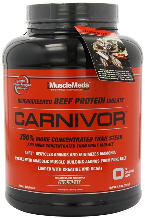 Carnivor Isolate Musclemeds 4 6 Lbs musclemeds carnivor beef protein 4 5 lbs chocolate