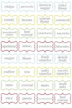 despensa definition jar labels tags 5 quot x3 quot to help organize your pantry vinyl
