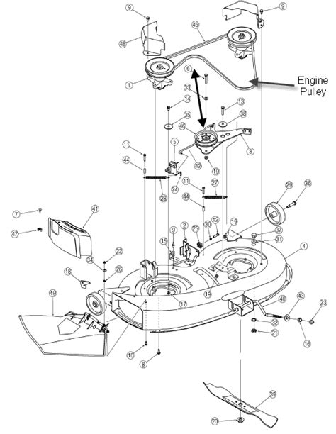 yard machine lawn mower belt diagram i need a diagram of how to install a belt not the drive