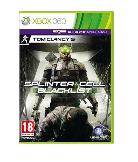 Tom Clancys Splinter Cell Echoes Vol 1 Graph Beli Sekarang tom clancy s splinter cell blacklist xbox 360 snapdeal