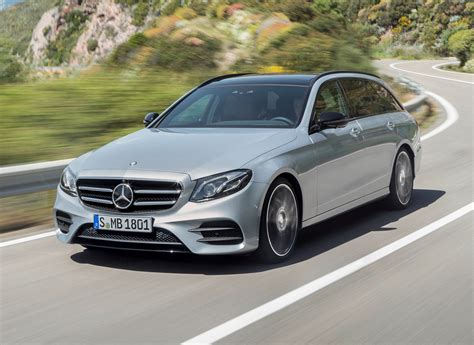 mercedes benz silver mercedes benz e class estate 2016 photos parkers
