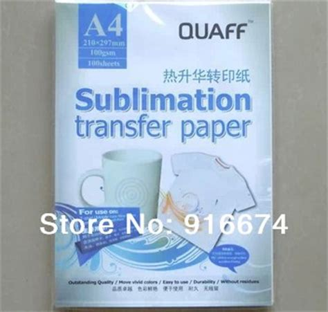 How To Make Sublimation Paper - fast free shipping 1000 sheets a4 sublimation transfer
