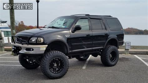 2016 lifted expedition wheel offset 1998 ford expedition aggressive 3 lifted 9