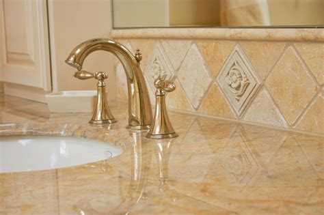 venezia artifex tumbled bathroom sink backsplash