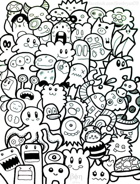 how to draw doodle creatures 47 best images about creative doodles monsters
