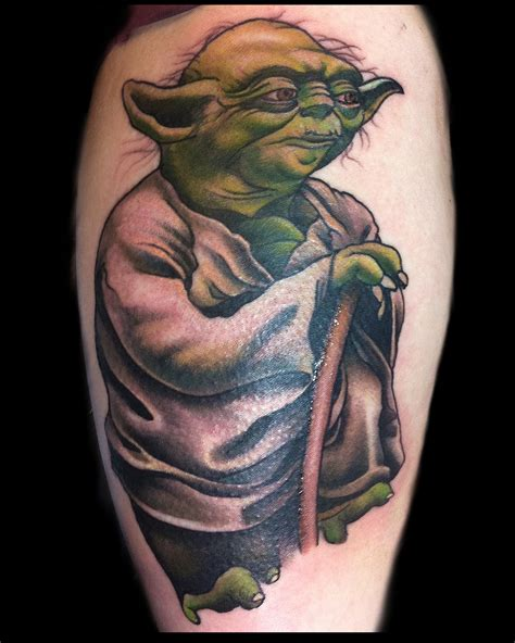 yoda tattoo tattoos lawson artist