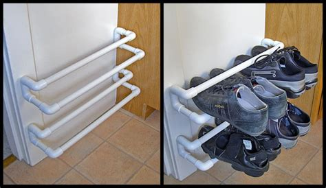 pvc pipe shoe storage diy shoe rack made from pvc pipe pvc shoe rack design