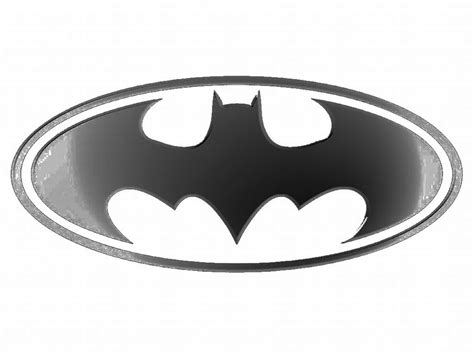 printable batman logo black and white batman logo clipart best