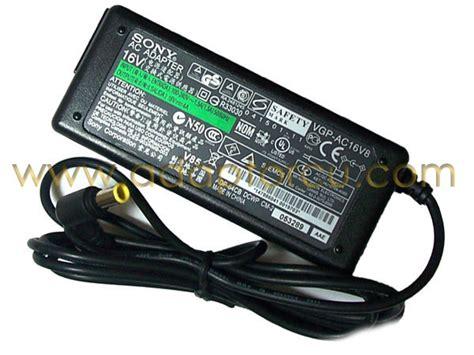 Adaptor Sony Vaio 16 Volt sony vaio pcg 505gx adapt 246 r 252 16 v 4 a 64 w adapt 246 r