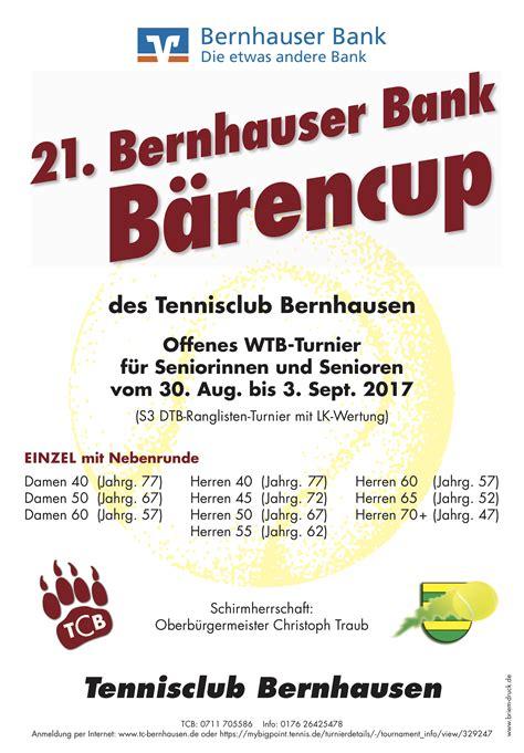 bernhauser bank banking tc bernhausen aktuelles