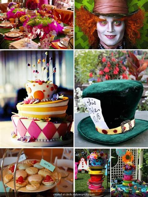 mad hatter tea table decorating ideas